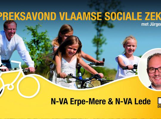 Gespreksavond Vlaamse sociale zekerheid met Jürgen Constandt (VNZ)