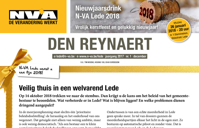 Den Reynaert - december 2017