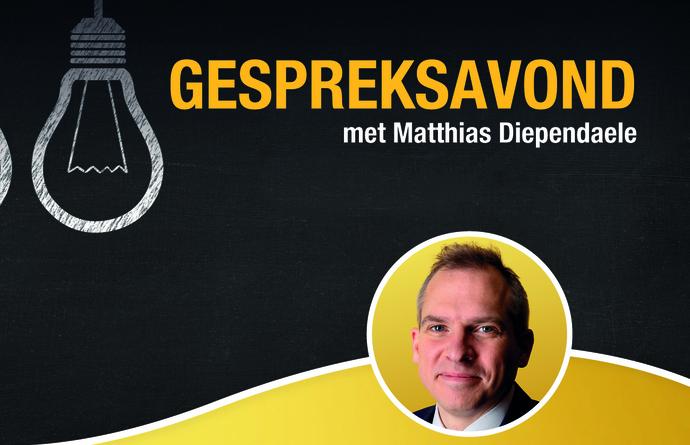 Gespreksavond met Vlaams minister Matthias Diependaele