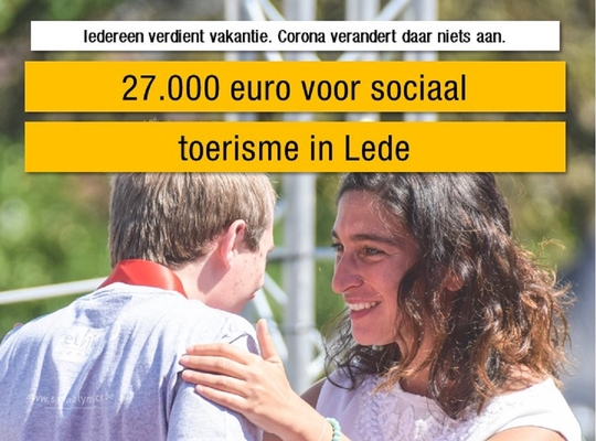 Vlaamse steun voor Sport Vlaanderen Oordegem en Scouts Lede